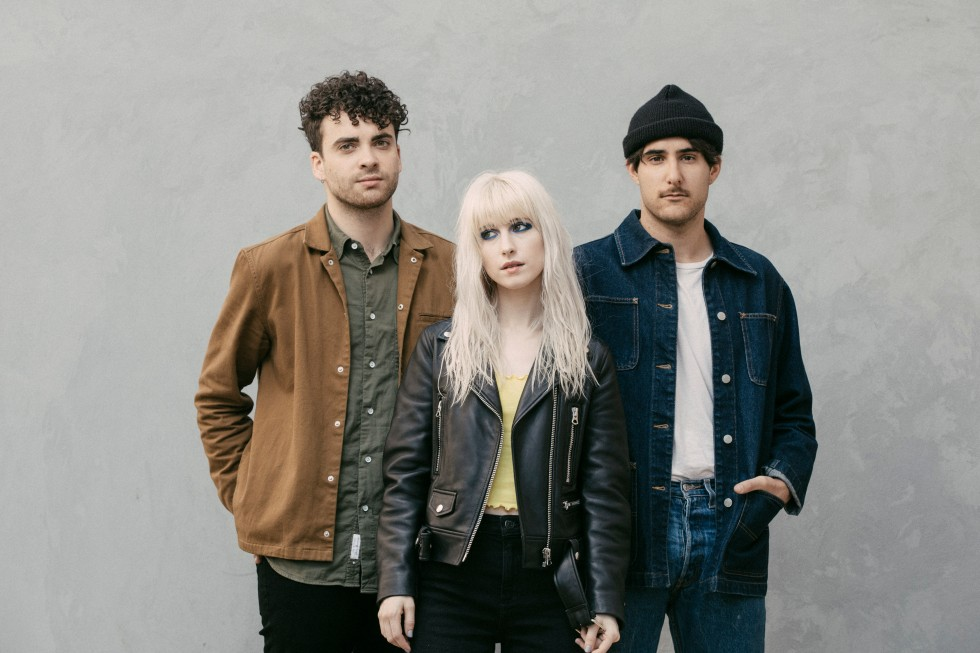 From left: Taylor York, Hayley Williams and Zac Farro of Paramore, in Nashville, Tenn.